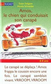 Amos Le Chien Conduisait Sur Canape - Intérieur - Format classique