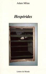 Hesperides - Couverture - Format classique