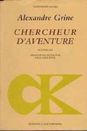 Chercheur D'Aventure - Couverture - Format classique