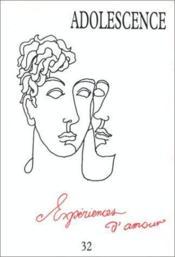 Experiences D'Amour - Couverture - Format classique