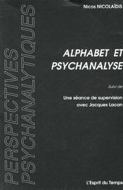 Alphabet et psychanalyse - Intérieur - Format classique