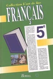 Francais 5e - Couverture - Format classique