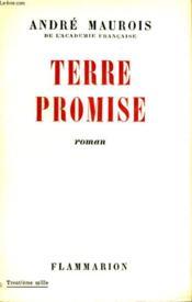 Terre Promise. - Couverture - Format classique