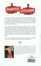 Maboul kitchen - 4ème de couverture - Format classique