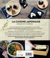 J'ADORE ; la cuisine japonaise - 4ème de couverture - Format classique