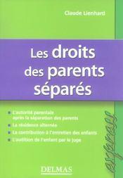 Les droits des parents séparés (2e édition) - Intérieur - Format classique