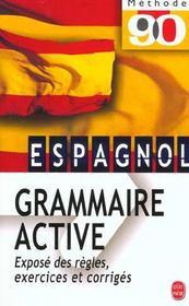 telecharger Grammaire active de l'espagnol livre PDF/ePUB en ligne gratuit
