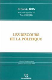Les discours de la politique - Couverture - Format classique