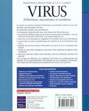Ref S&R Virus - 4ème de couverture - Format classique