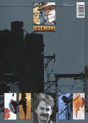 Jeremiah T.10 ; boomerang - 4ème de couverture - Format classique