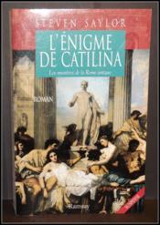 Enigme de catilina - Couverture - Format classique
