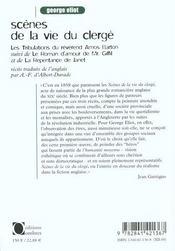 Scenes De La Vie Du Clerge - 4ème de couverture - Format classique