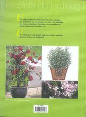Plantes En Bacs (Les) - 4ème de couverture - Format classique