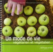 Un mode de vie végetarien et végétalien - Couverture - Format classique