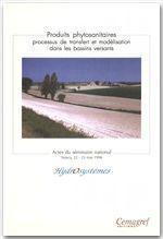 Produits phytosanitaires ; processus de transfert et modélisation dans les bassins versants - Couverture - Format classique