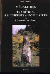 Megalithes et traditions religieuses en livradois forez - Intérieur - Format classique