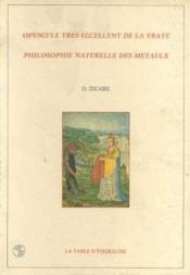 Opuscule Tres Excellente De La Vraie Philos - Couverture - Format classique