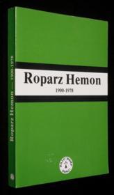 Roparz Hemon 1900-1978 - Couverture - Format classique