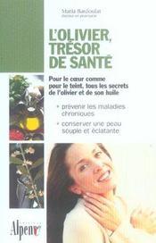 L'Olivier, Tresor De Sante - Intérieur - Format classique