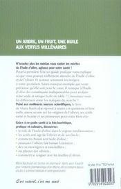 L'Olivier, Tresor De Sante - 4ème de couverture - Format classique