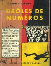 Droles De Numeros. - Couverture - Format classique
