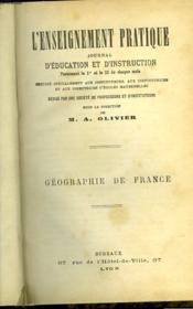 Enseignement Pratique - Journal D'Education Et D'Instruction - Couverture - Format classique
