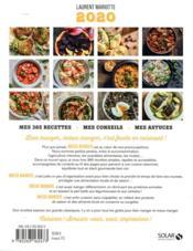 Mieux manger toute l'année (édition 2020) - 4ème de couverture - Format classique