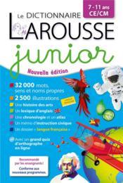 Le dictionnaire Larousse junior - Couverture - Format classique