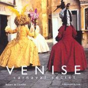 Venise ; carnaval secret - Intérieur - Format classique