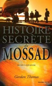 Histoire secrete du mossad - Couverture - Format classique