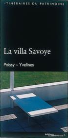 La villa Savoye - Couverture - Format classique