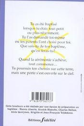 Mon Bapteme Aux Couleurs De L'Arc-En-Ciel - 4ème de couverture - Format classique