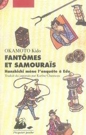 Fantômes et samouraïs ; Hanshichi mène l'enquête à Edo - Intérieur - Format classique