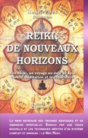 Reiki ; de nouveaux horizons - Couverture - Format classique