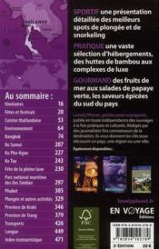 Thaïlande ; îles et plages (2e édition) - 4ème de couverture - Format classique