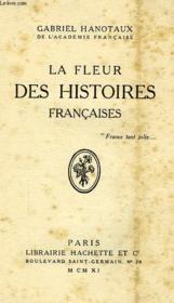La Fleur Des Histoires Francaises - Couverture - Format classique