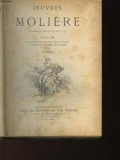 Oeuvres De Molieres - Tome 1 - Couverture - Format classique