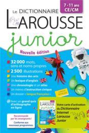 Le dictionnaire Larousse junior bimedia - Couverture - Format classique