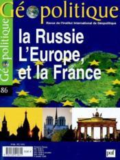 Revue Geopolitique N.86 (édition 2004) - Couverture - Format classique