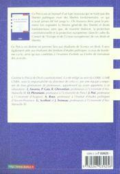 Droit Des Libertes Fondamentales - 4ème de couverture - Format classique