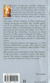 Cycle De Dune T.7 ; La Maison Des Meres - 4ème de couverture - Format classique