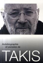 Autobiographie et pensées de takis - Intérieur - Format classique