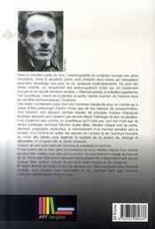 Autobiographie et pensées de takis - 4ème de couverture - Format classique