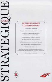 Terrorismes Contemporains (Les) - Couverture - Format classique