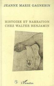 Histoire et narration chez Walter Benjamin - Intérieur - Format classique