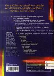 Psychologie cognitive de la lecture ; processus, reconnaissance, mots écrits - 4ème de couverture - Format classique
