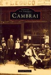 Cambrai - Couverture - Format classique