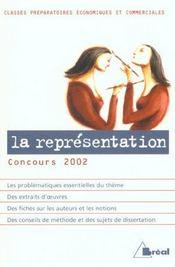 La representation - Intérieur - Format classique