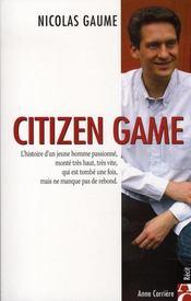 Citizen game - Intérieur - Format classique