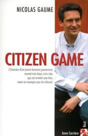 Citizen game - Couverture - Format classique